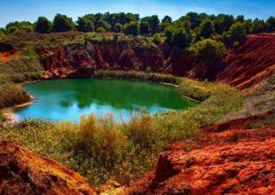Escursioni a Otranto – cava di bauxite